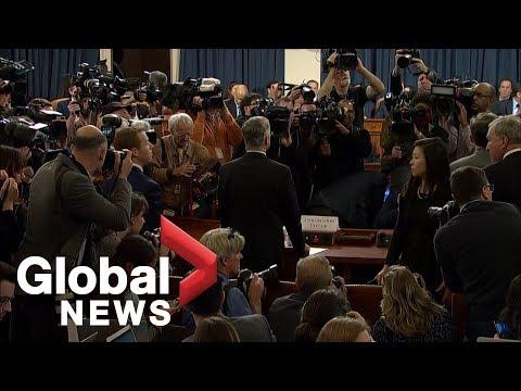 Trump impeachment hearings begin in Washington | HIGHLIGHTS