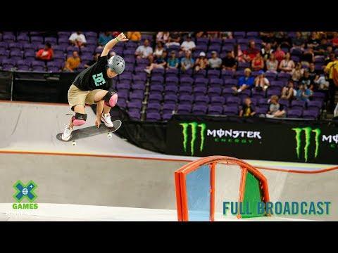 Women's Skateboard Park: FULL BROADCAST | X Games Minneapolis 2019