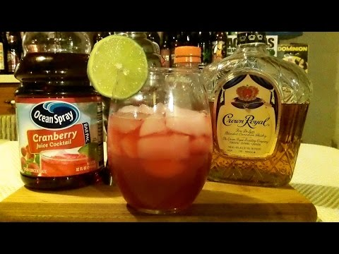 How To Make  A Canadian Cape Cod Cocktail / Mixed Drink ✚ RECIPE INCLUDED ✚ DJs BrewTube