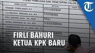 Komisi III DPR RI Pilih Firli Bahuri Sebagai Ketua KPK 2019-2023