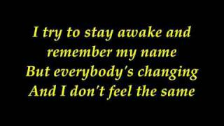 Keane   Everybody Changing With Lyrics