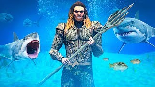PLAYING GTA 5 AS AQUAMAN!