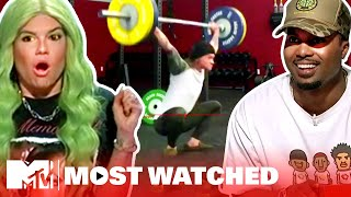 Top 5 Most-Watched Ridiculousness Videos (April) ft. Leona Lewis, Chief Keef & More | MTV