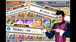 Evolving and Rerolling Accessories and Yuki Damage