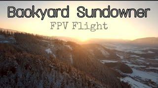 Fpv Backyard Sundowner