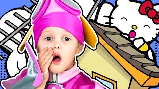 ЩЕНЯЧИЙ ПАТРУЛЬ Спасение Щенков Скай Эверест Гонщик отправляются на задание Видео для детей