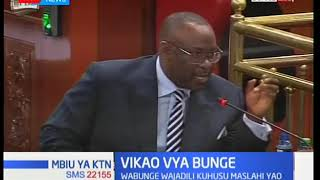 Kenyan MPs lament about their welfare in the 12th Parliament