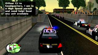 What Would Happen If I Played GTA Like Real CHP? - GTA SA