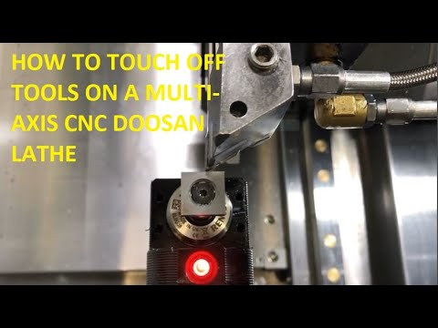 Download Touch Off And Set A Tool On A Cnc Lathe Video 3GP Mp4 FLV