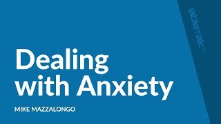 Dealing with Anxiety – God's Prescription for Burnout