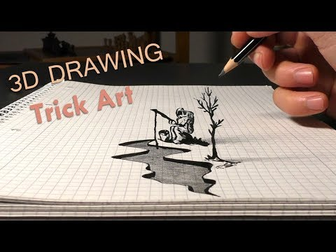 3d drawing astrofisher by portrait painter pabst