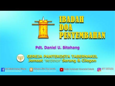 IBADAH DOA PENYEMBAHAN, 06 APRIL 2021  - Pdt. Daniel U. Sitohang