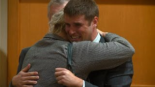 Alec Cook Tears Up at Sentencing in University of Wisconsin Sexual Assault Case