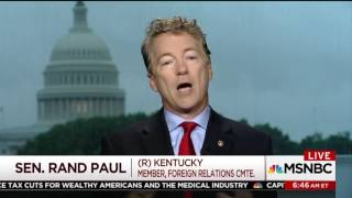 Obama Made Cheap Health Insurance Illegal | Rand Paul