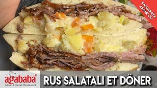 Rus Salatalı Et Döner/ Ağababa Döner