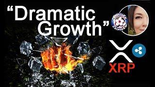 XRP has DRAMATIC growth Q1 2019, Ripple Asheesh Birla WEBcast Ad, Elixxir NODE update!