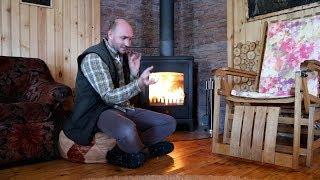 Печь-камин Diffusion Taheto. Отопление дачи зимой. с -2 до +20. Как быстро?