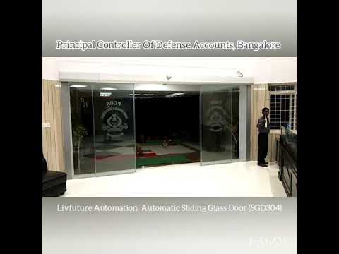 Sensor Sliding Glass Door