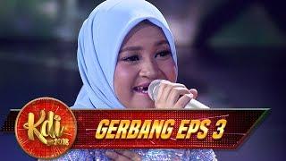 Merdu Abezz, Penampilan Nida di Panggung Megah KDI [CINDAI]- Gerbang KDI Eps 3 (26/7)