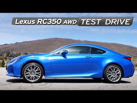 2019 Lexus RC350 AWD Review - CUV Sportscar? - Test Drive   Everyday Driver