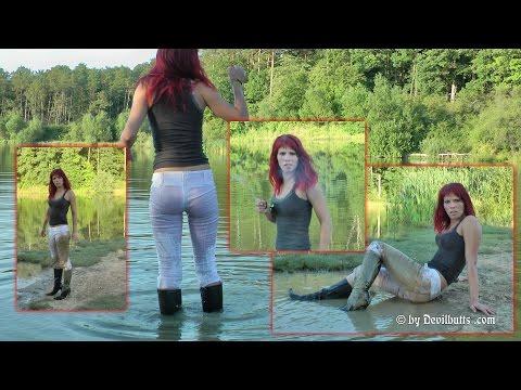 Wetlook Manuela 26 Boots Miss Sixty Lake Devilbutts