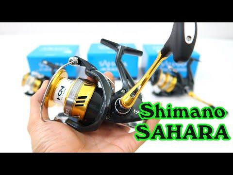 Máy câu cá Shimano Sahara - 2500Hg - C3000HG - 4000XG - C5000XG - Made in malaysia