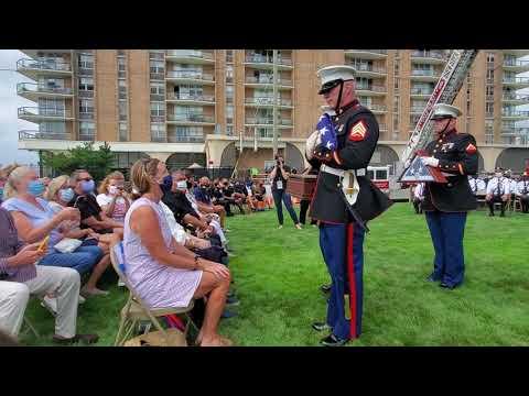 Memorial Flag Presentation at the 2020 Atlantic City 911 Memorial Ceremony
