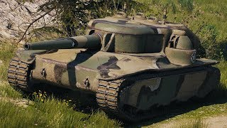 World of Tanks T28 Concept - 10 Kills 6K Damage (1 VS 5)