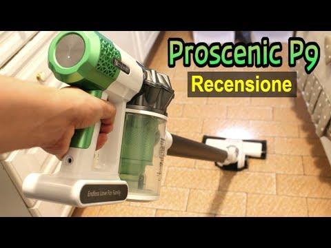 MIGLIOR ASPIRAPOLVERE SENZA FILI: Recensione Proscenic P9