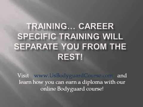 Online Bodyguard Training - YouTube