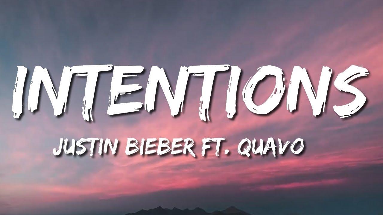 Justin Bieber - Intentions Song Lyrics