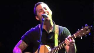 "Anthony Raneri - ""Blame It On Bad Luck"" [Acoustic] (Live in San Diego 2-4-12)"