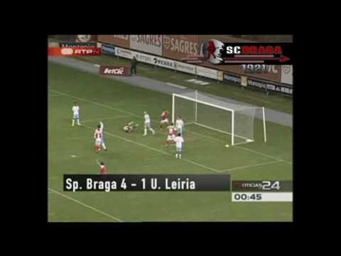 Braga 4-1 Leiria