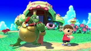 Super Smash Bros. Ultimate King K Rool Character Reveal Gameplay