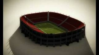 preview picture of video 'Soccer Stadium Construction'