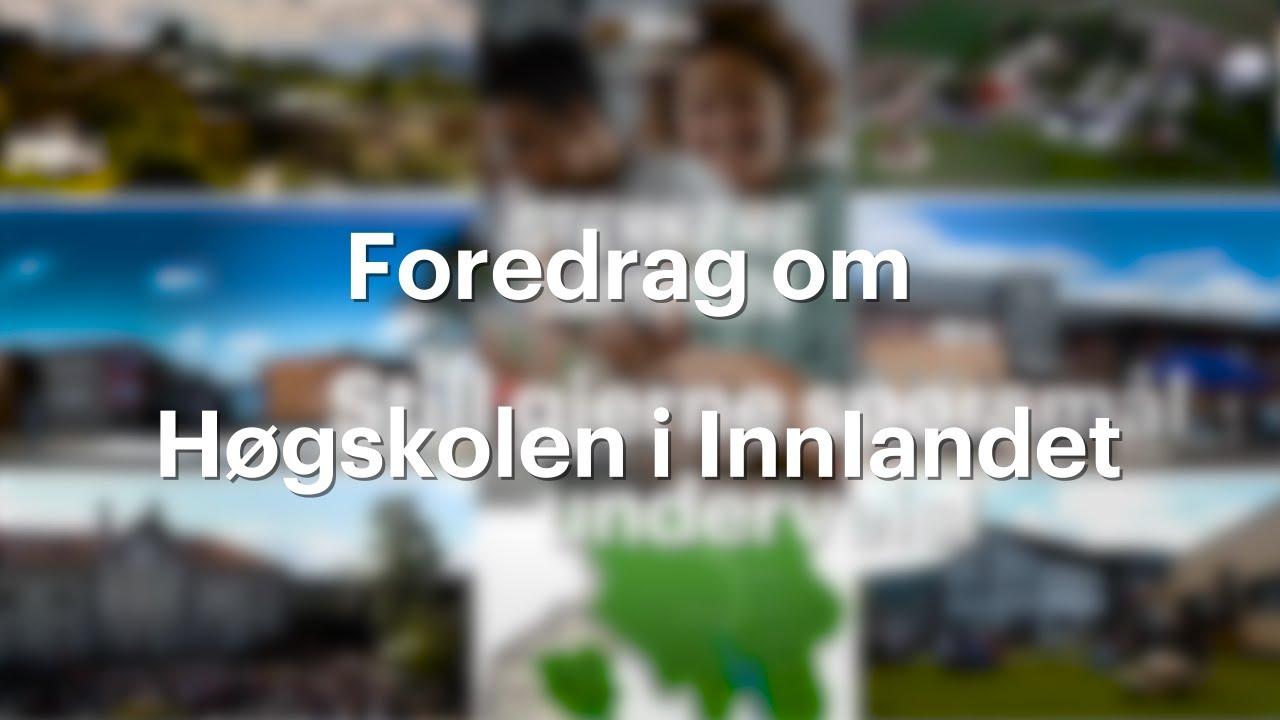 Presentasjonsfilm av Høgskolen i Innlandet