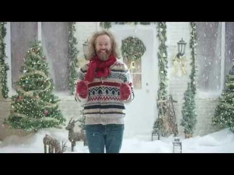 Publicité de Noël