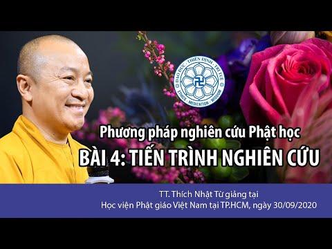 Tiến trình nghiên cứu ▏Phương pháp nghiên cứu Phật học