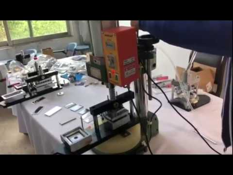 How to assemble and change different moulds on the PP500 Pneumatic device?
