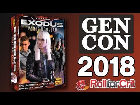 Exodus: Paris Nouveau Impressions   Gen Con 2018