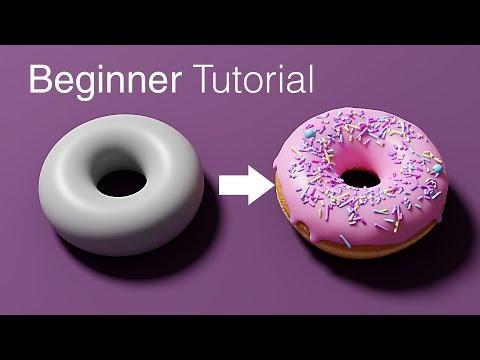 Blender Beginner Tutorial - Part 1