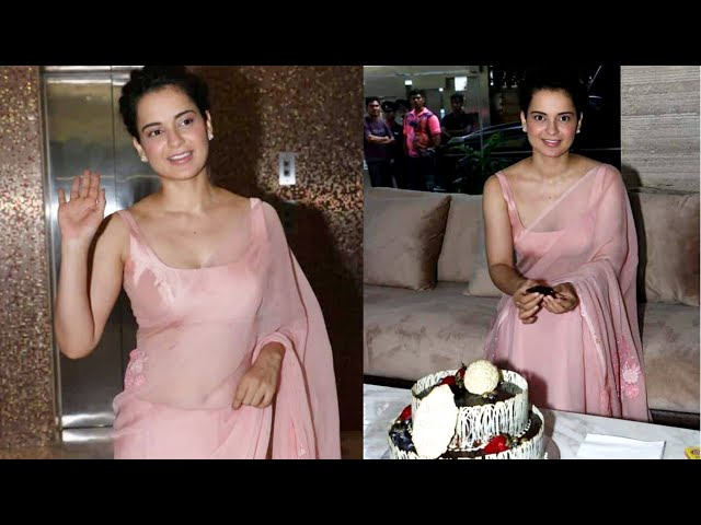Kangana Ranaut Cuts Cake, Speaks on Jayalalithaa, National Award | Birthday Press Conference
