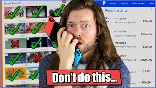 A Random Generator BUYS My Nintendo Switch Games