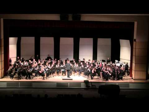This is The Valley Winds in my first performance as first clarinet.