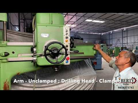 Gysin 50 mm Radial Drilling Machine