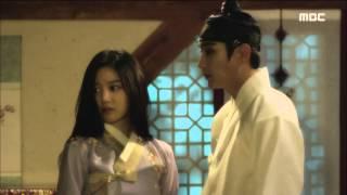 [Scholar Who Walks The Night] 밤을 걷는 선비 2회 - Lee Yu-bi is lost in memories 이유비, 이준기와의 동침 회상! 20150709