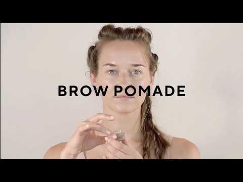 Maquillaje cejas Brow Pomade #30 Ash brown ceniza Mádara 5 g