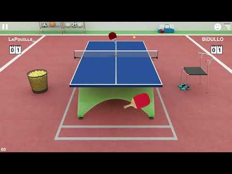 Three matches highlights - Virtual Table Tennis online