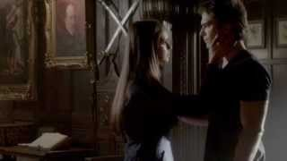 "Elena and Damon ""IT IS REAL Please don't do this to me"" 