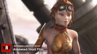 Sci-Fi CGI 3D Animated Short Film ** GOLIATH ** Steampunk Adventure Animation by ArtFX Team